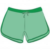 Pantalones Cortos Tenis Mujer
