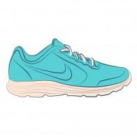 Zapatillas Fintess Mujer