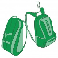 Raqueteros y mochilas para deportes de raqueta
