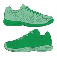 Todo el calzado para todo tipo de pistas de tenis, padel y frontenis