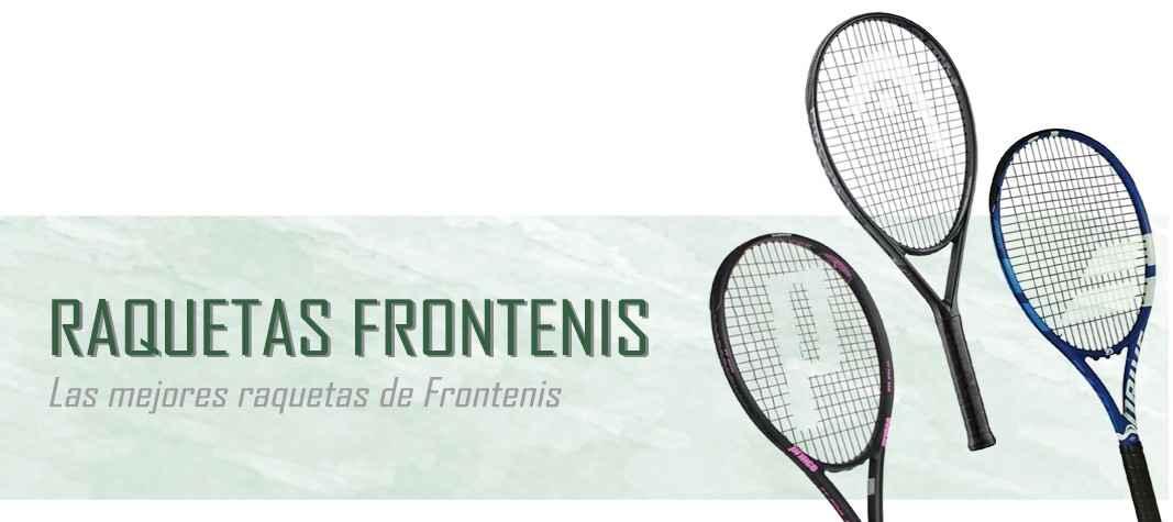 Raquetas de Frontenis