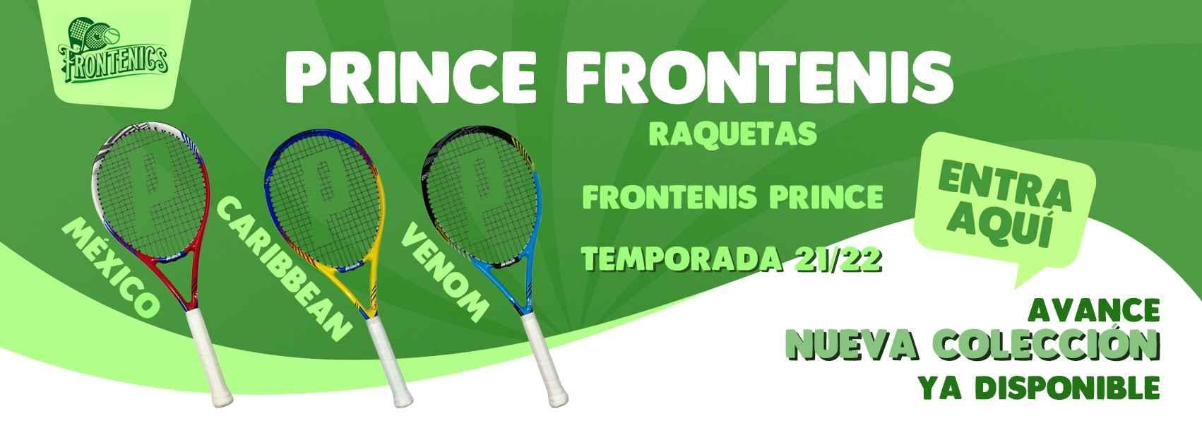 Nueva colección raquetas frontenis Prince